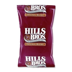 Case of [1] Office Snax Hills Brothers Coffee, 1.5 oz, 42PK/CT