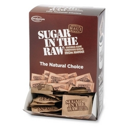 Case of [2] Sugar Foods Corp Sugar In The Raw,Not Bleached,200