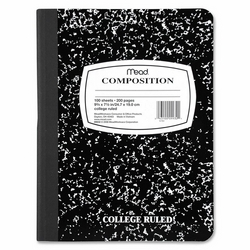 Case of [14] Composition Notebook College Ruled