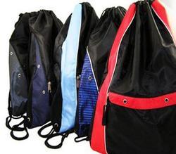 Case of [12] Classic Nylon Drawstring Backpack