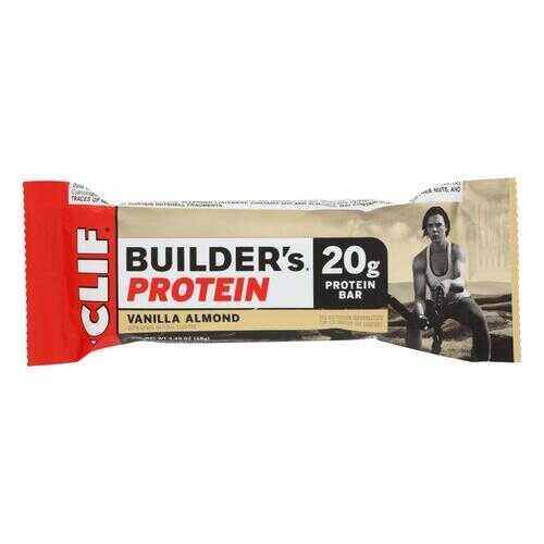 Clif Bar Builder Bar - Vanilla Almond - Case of 12 - 2.4 oz
