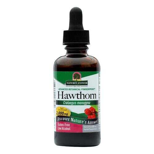 Nature's Answer - Hawthorn Berry Leaf and Flower - 2 fl oz