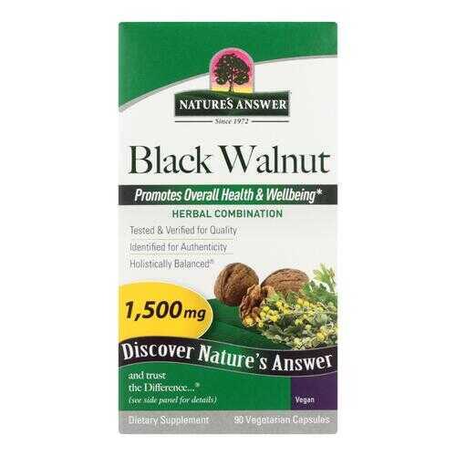 Nature's Answer - Black Walnut Complex - 90 Vegetarian Capsules