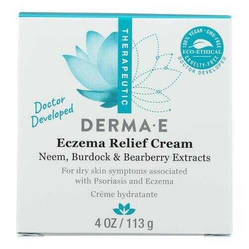 Derma E Psorzema Natural Relief Creme For Scaling Flaking and Itching - 4 oz