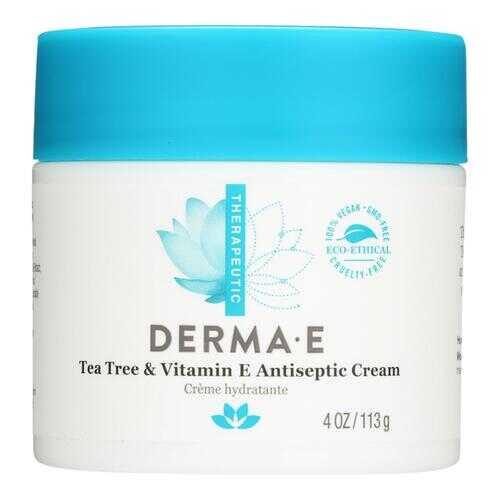Derma E - Tea Tree and E Antiseptic Creme - 4 oz.