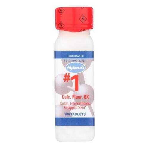 Hyland's Calcium Fluoride 6x - 1 g - 500 Tablets