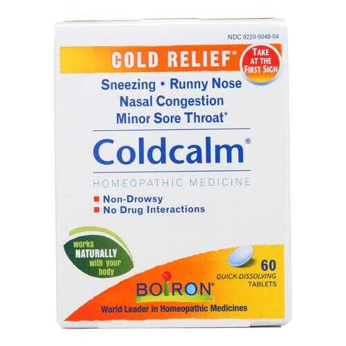 Boiron - Coldcalm Cold - 60 Tablets
