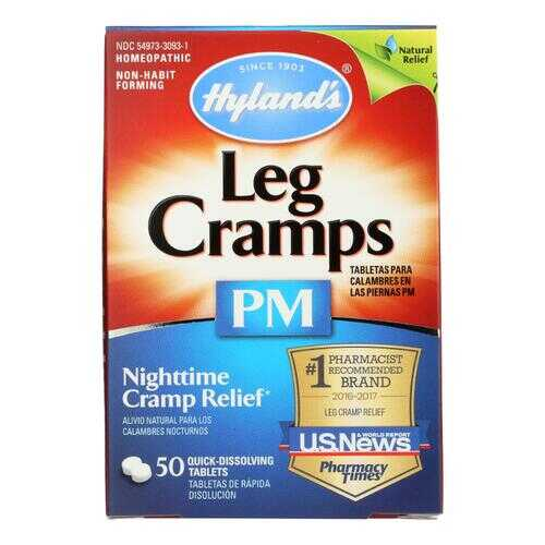 Hyland's Leg Cramps PM - 50 Tablets