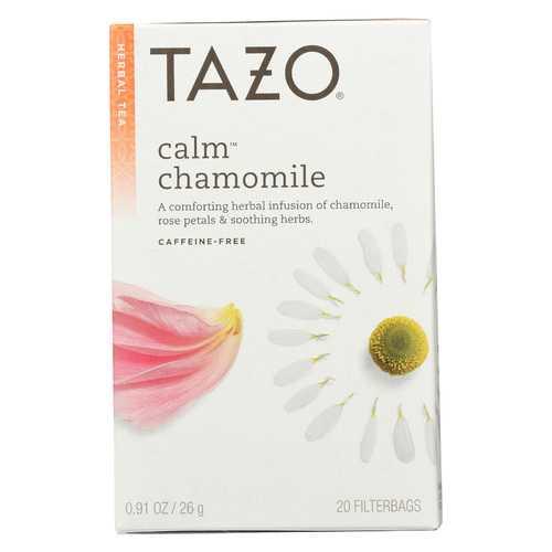Tazo Tea Herbal Tea - Calm - Case of 6 - 20 BAG