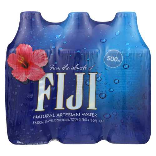 Fiji Natural Artesian Water - Case of 4 - 16.9 Fl oz.