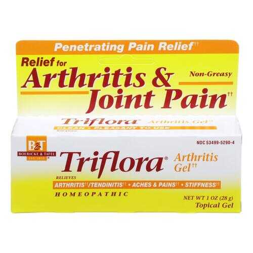 Boericke and Tafel Triflora Arthritis Gel - 1 oz