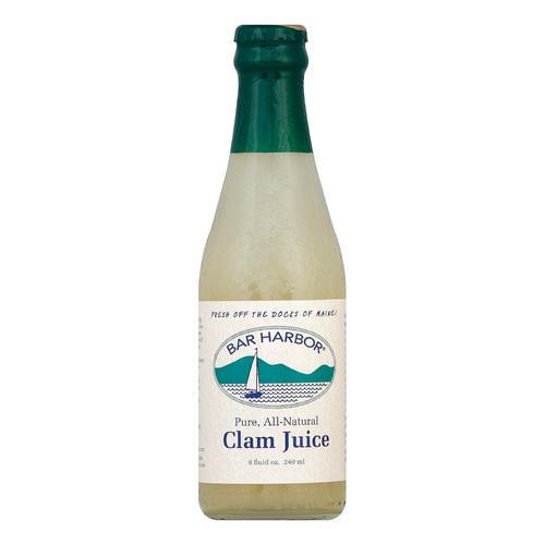 Bar Harbor Clam Juice - Case of 12 - 8 Fl oz.