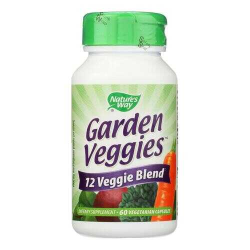 Nature's Way - Garden Veggies - 60 Vegetarian Capsules