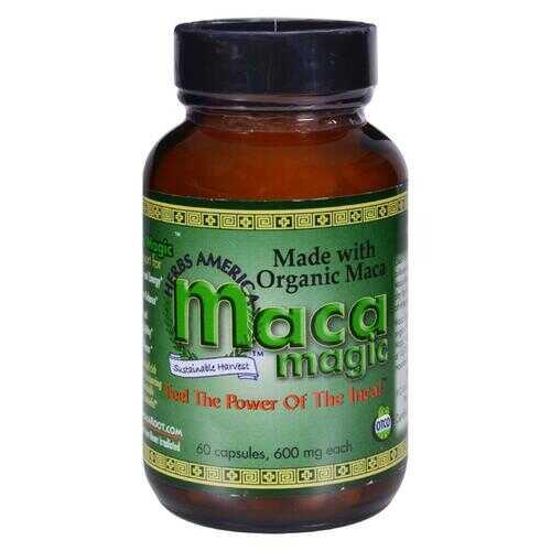 Maca Magic - Organic - 600 mg - 60 Capsules
