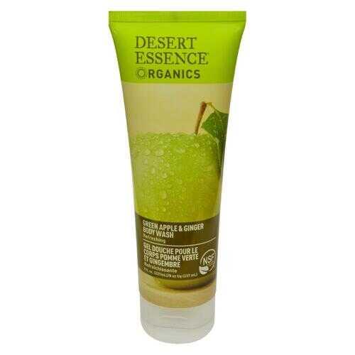 Desert Essence Body Wash Green Apple and Ginger - 8 fl oz