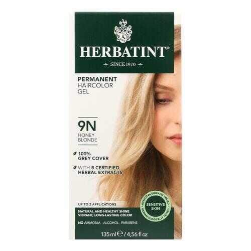 Herbatint Permanent Herbal Haircolour Gel 9N Honey Blonde - 135 ml
