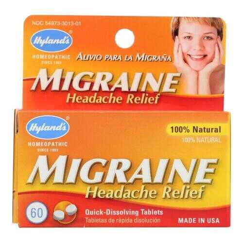 Hyland's Migraine Headache Relief - 60 Tablets