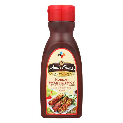 Annie Chun's Go Chu Jang Korean Sweet and Spicy Sauce - Case of 6 - 10 fl oz.