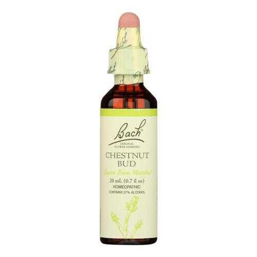 Bach Flower Remedies Essences Chestnut Bud - 0.7 fl oz