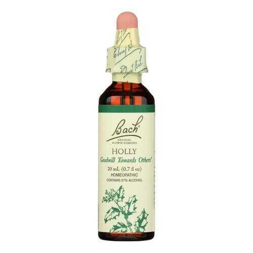Bach Flower Remedies Essence Holly - 0.7 fl oz