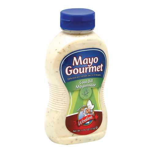 Mayo Gourmet Mayo - Cool Dill - Case of 6 - 11 oz