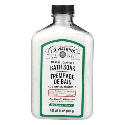 J.R. Watkins Menthol Camphor Bath Soak - 14 oz