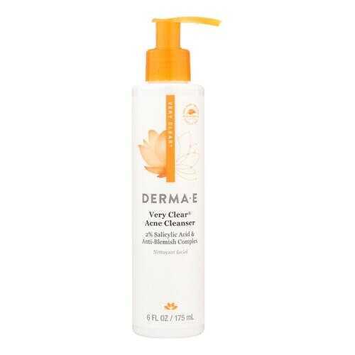 Derma E - Very Clear Cleanser - 6 fl oz.