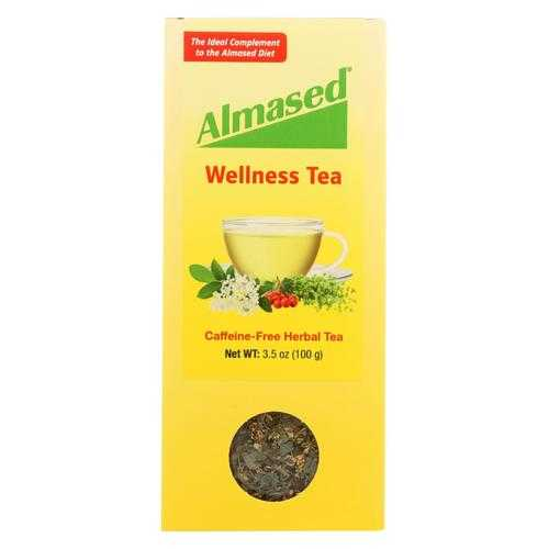 Almased - Caffeine Free Herbal Tea - Case of 3.5 - 3.5 oz.