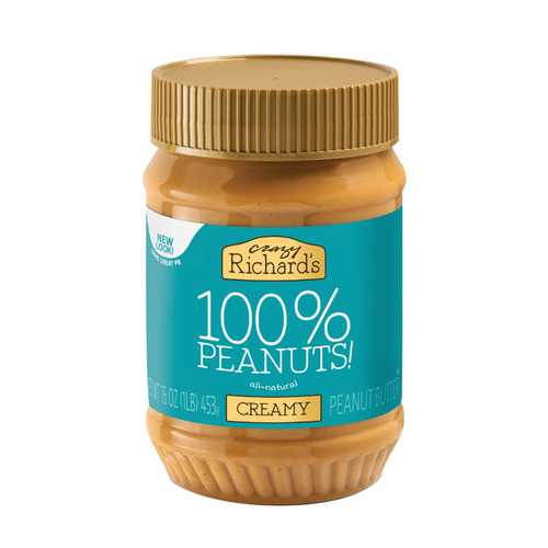 Crazy Richards Natural Creamy Peanut Butter - 16 oz.