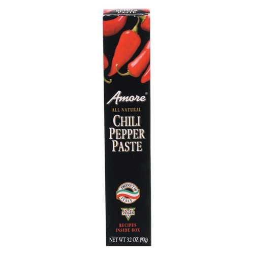 Amore Hot Pepper Paste - Case of 12 - 3.15 oz