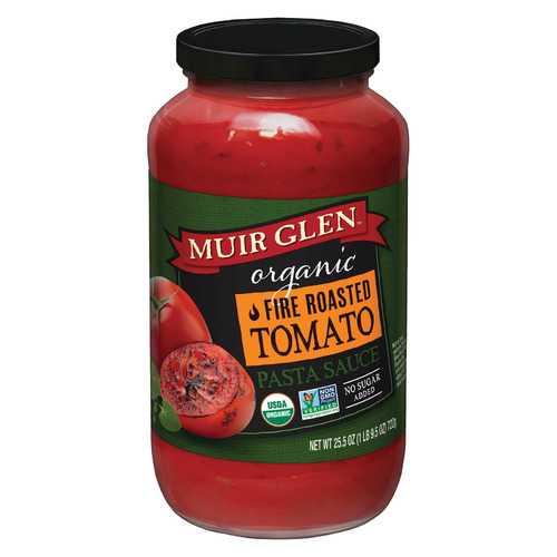 Muir Glen Roasted Tomato Sauce - Tomato - Case of 12 - 25.5 Fl oz.