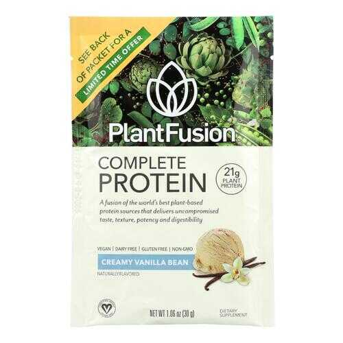 Plantfusion Vanilla Packets - Case of 12 - 30 Grams