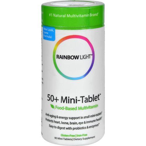 Rainbow Light 50 Plus Mini-Tab Age-Defense Formula - 90 Tablets