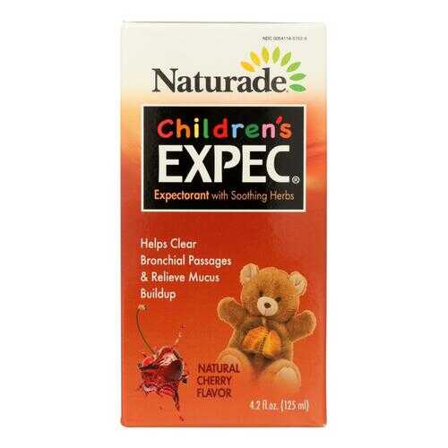 Naturade Expectorant Children's Cough Syrup - 4.2 oz
