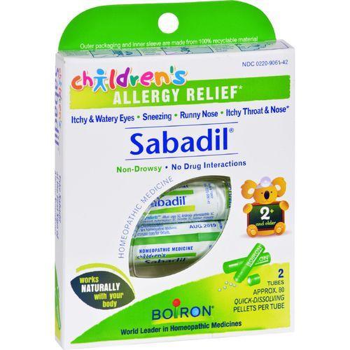 Boiron Children's Sabadil Pellets - 2 Tubes