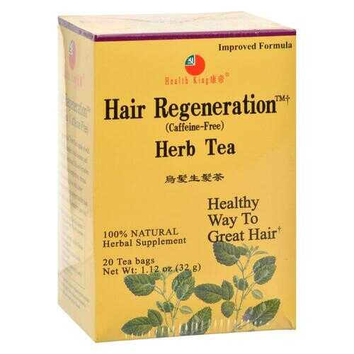 Health King Hair Regeneration Herb Tea - 20 Tea Bags