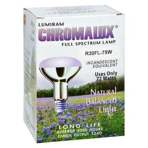 Chromalux 75 Watt Frosted Reflector Floodlights - 1 Bulb