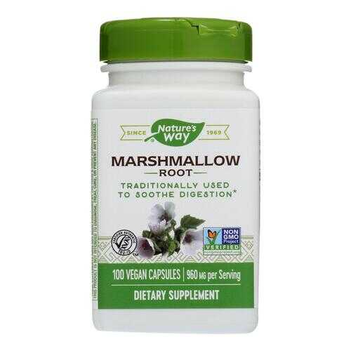 Nature's Way - Marshmallow Root - 100 Capsules