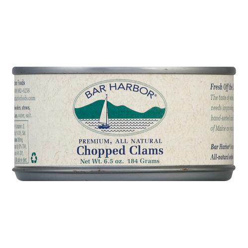 Bar Harbor Chopped Clams - Case of 12 - 6.5 oz.