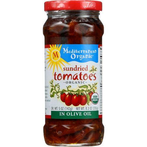 Mediterranean Organic Tomato - Organic - Sundried - in Olive Oil - 8.3 oz - case of 12