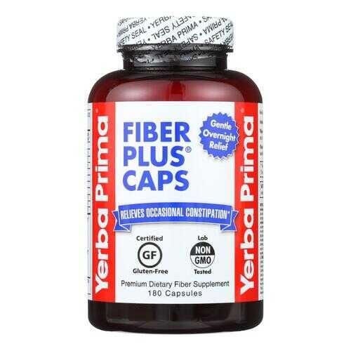 Yerba Prima Fiber Plus Caps - 625 mg - 180 Capsules