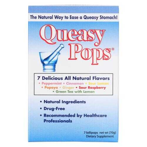 Three Lollies Queasy Pops - Assorted - 7 Pack