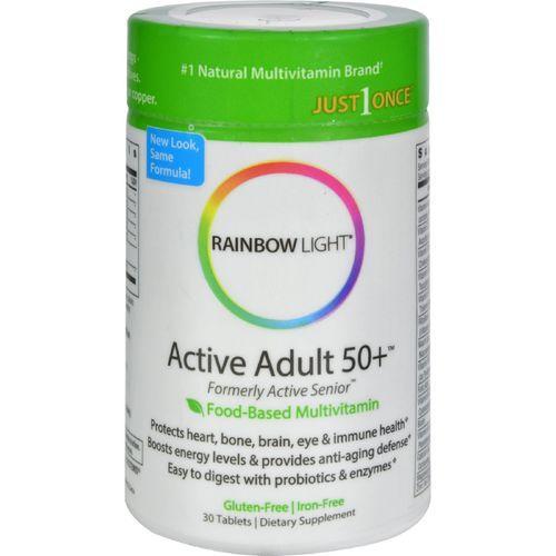 Rainbow Light Active Senior Multivitamin - 30 Tablets