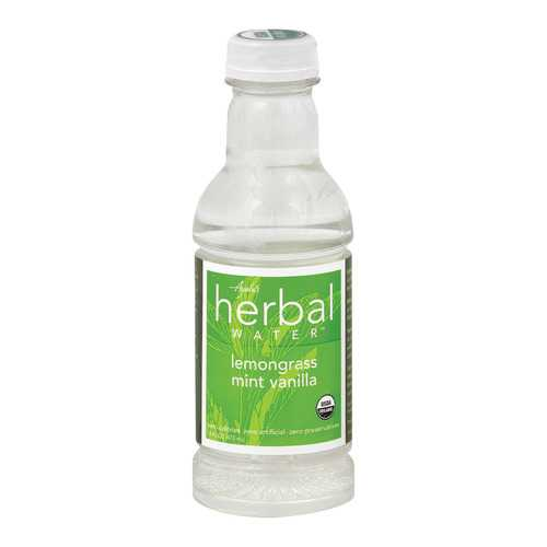 Ayala's Herbal Water - Still Lemongrass Mint Vanilla - Case of 12 - 16 Fl oz.