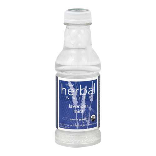 Ayala's Herbal Water - Still Lavender Mint - Case of 12 - 16 Fl oz.