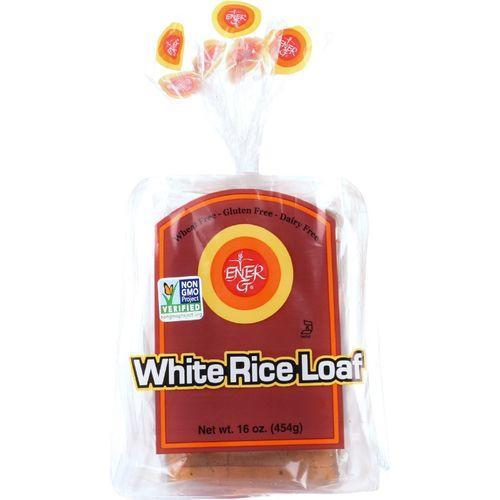 Ener-G Foods Loaf - White Rice - 16 oz - case of 6