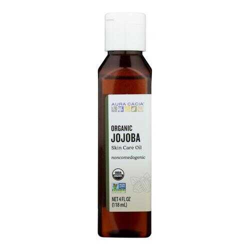Aura Cacia Organic Aromatherapy Jojoba Oil - 4 fl oz