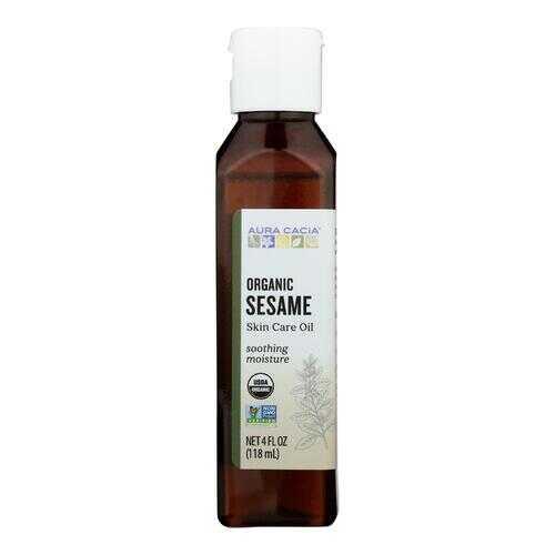 Aura Cacia Organic Aromatherapy Sesame Oil - 4 fl oz