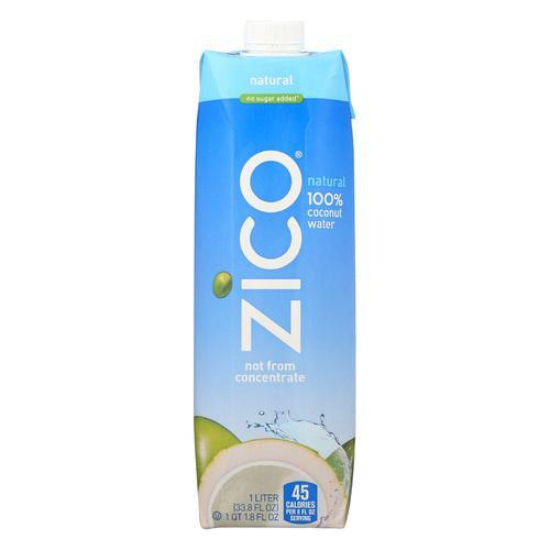 Zico Coconut Water Coconut Water - Natural - Case of 12 - 1 Liter