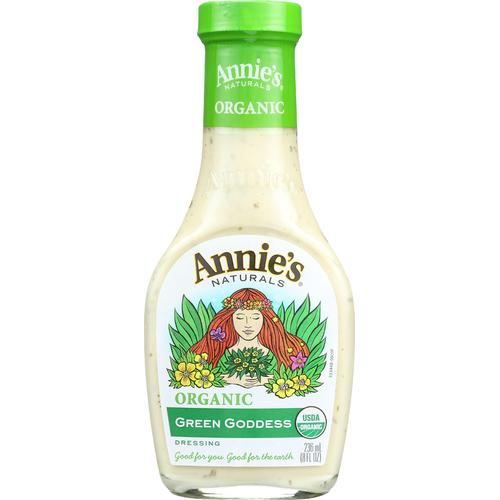 Annie's Naturals Organic Dressing Green Goddess - Case of 6 - 8 fl oz.
